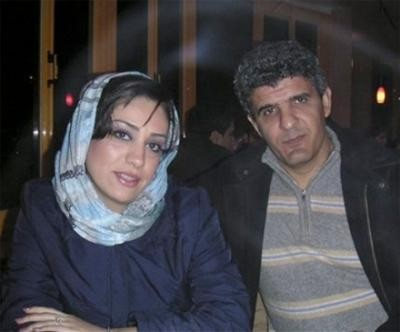 Shahrazad Mir Gholikhan, is seen with her husband Mahmoud Seif Gholikhan.