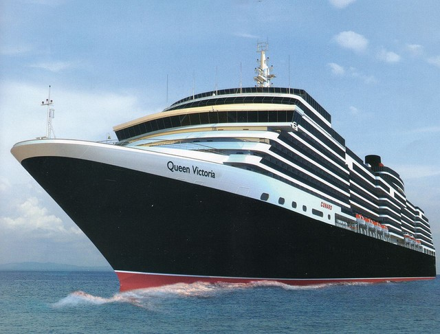 Queen Victoria, Cunard's newest cruise ship