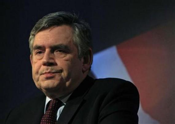 Britain's Prime Minister Gordon Brown