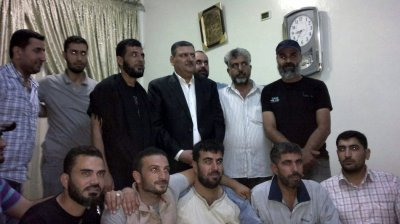 Syrias former prime minister Riyad Hijab