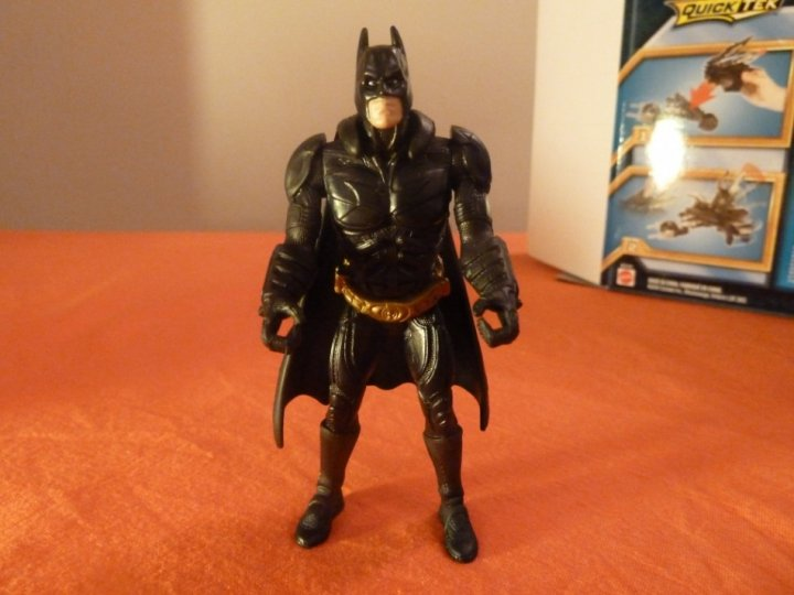 The Dark Knight Rises Toy Reviews Attack Armour Bat-Pod Batman figure