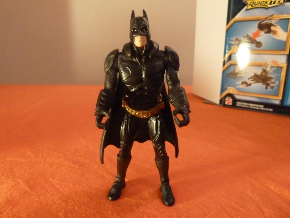 The Dark Knight Rises Toy Reviews Attack Armour Bat-Pod Batman figure