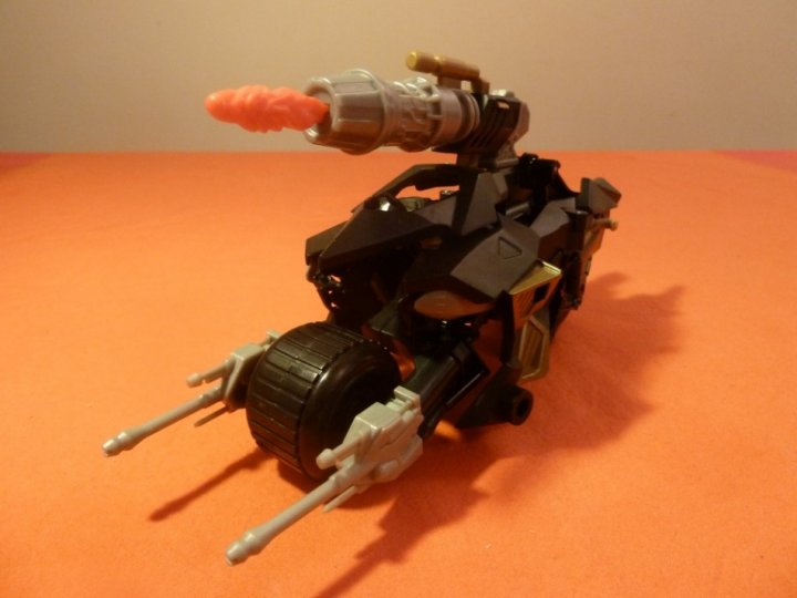 The Dark Knight Rises Toy Reviews Attack Armour Bat-Pod Batman