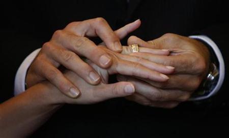 Divorce wedding