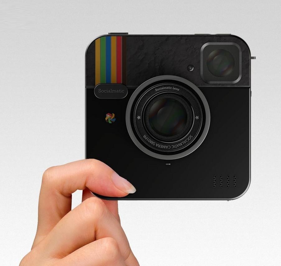 Siocialmatic Instagram-inspired camera new design images ADR Studio