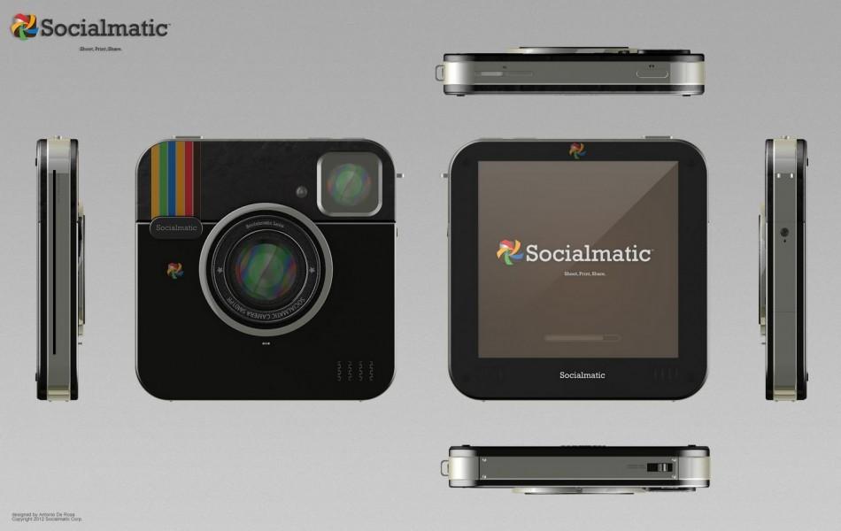 Siocialmatic Instagram-inspired camera new design images ADR Studio specs