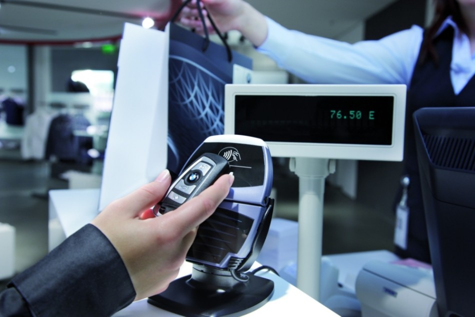 NFC Focus Round up of Contactless Technology BMW car keys payment