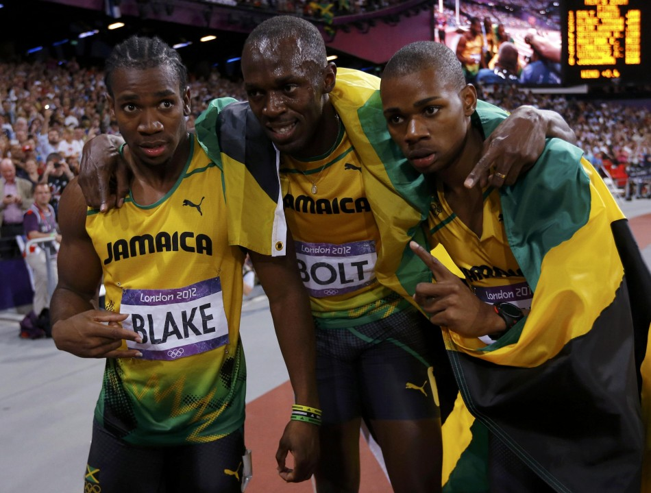 Jamaica sprint team