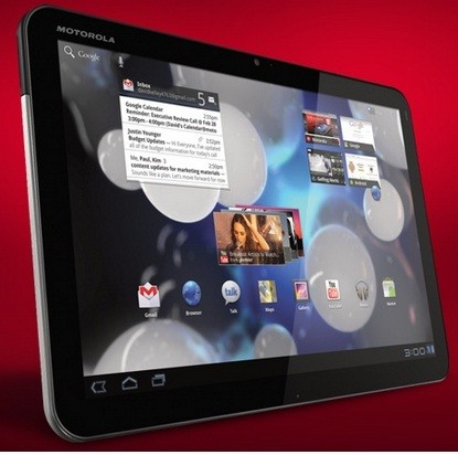 Motorola Rolls Out ICS Update to Xoom Wi-Fi and 3G Models in UK