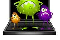 Virus malware infected computer generic image clip art
