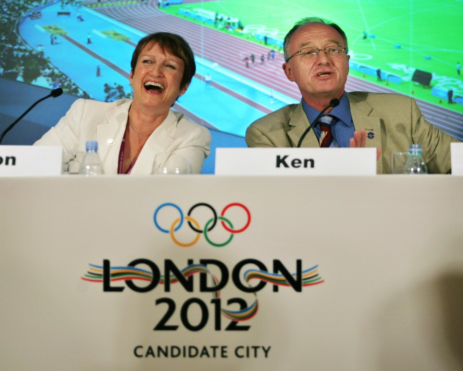 Tessa Jowell Ken Livingstone Olympics