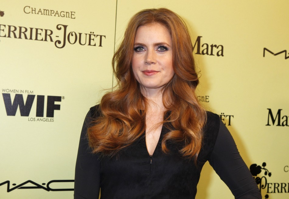Amy Adams has strawberry blond hair