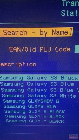 Samsung Galaxy S3 Black Listing Surfaces in Carphone Warehouse's Inventory System