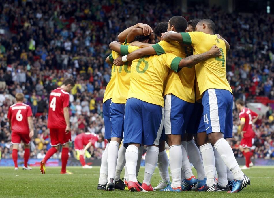 Brazil at London Olympics 2012