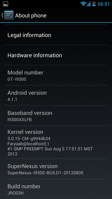Update Samsung Galaxy S3 to Jelly Bean with SuperNexus ROM [How to Install]