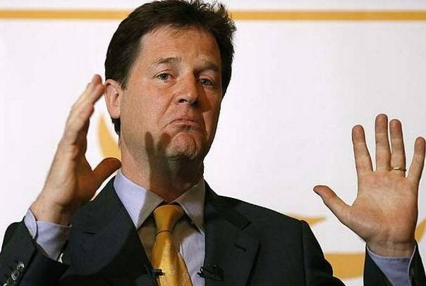 Deputy Prime Minister Nick Clegg offered 12 of the tickets to