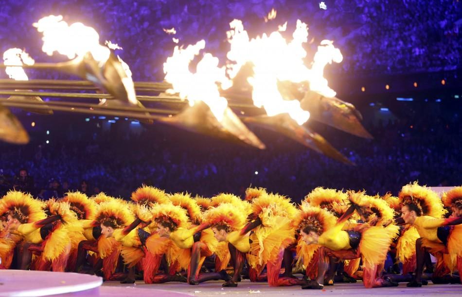 London Olympics Closing Ceremony