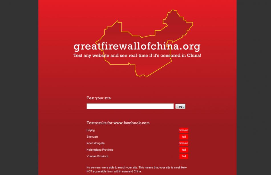 Great Firewalls of China