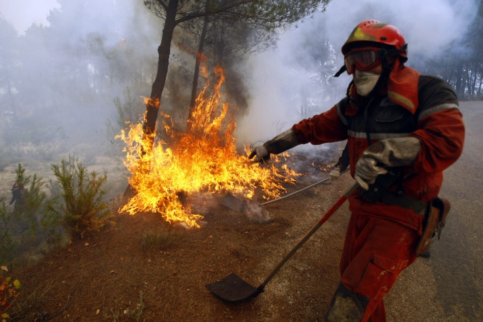 canary islands wildfires
