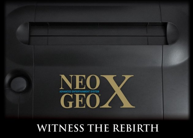 NeoGeo X Gold Witness the Rebirth