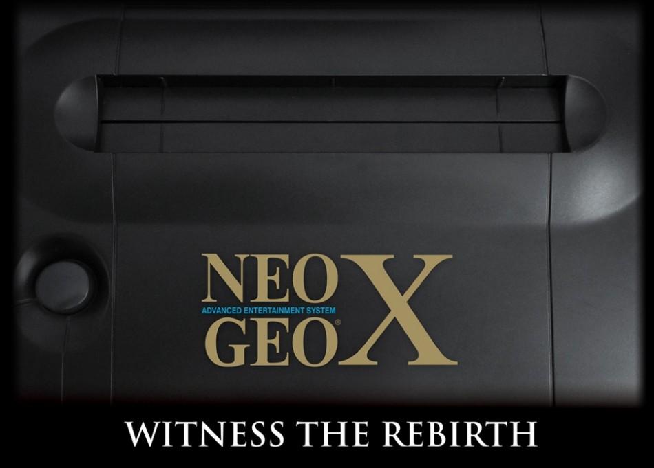 NeoGeo X Gold Witness the Rebirth