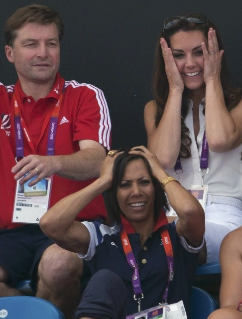 Kate Middleton at London 2012