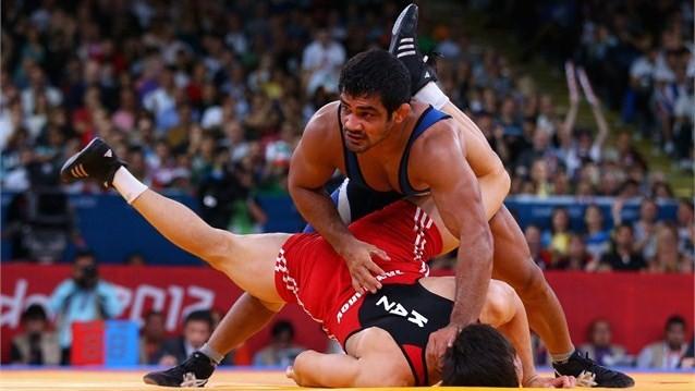 Sushil Kumar of India