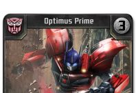 Transformers Battle Game Optimus_rare_melee