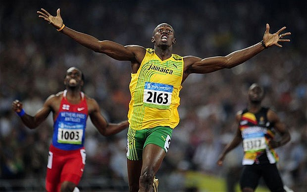 Usain Bolt 200m final