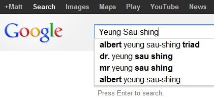 Dr Albert Yeung Sau Shing Chairman Emporer Group Google adds triad