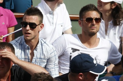 Laurent Koscielny and Olivier Giroud