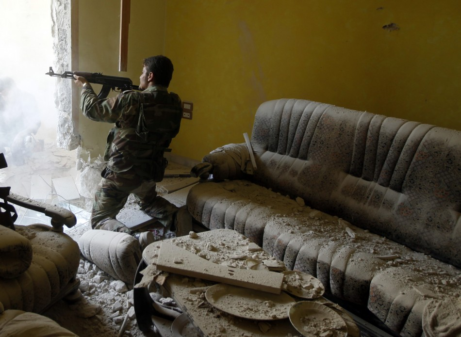 Fights in Aleppo