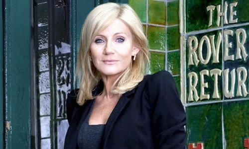 Coronation Street star Michelle Collins