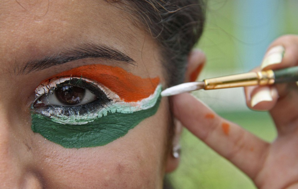 India 39 s 66th independence day concern over economy and for 15 aug decoration