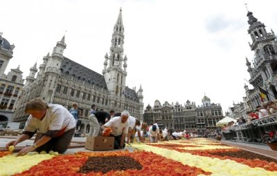 Brussels Grand Place Flower Carpet 2012