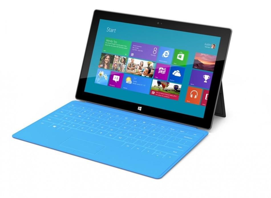 Microsoft Windows RT Arm Processor Surface tablet