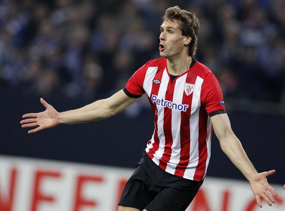 Fernando Llorente of Athletic Bilbao