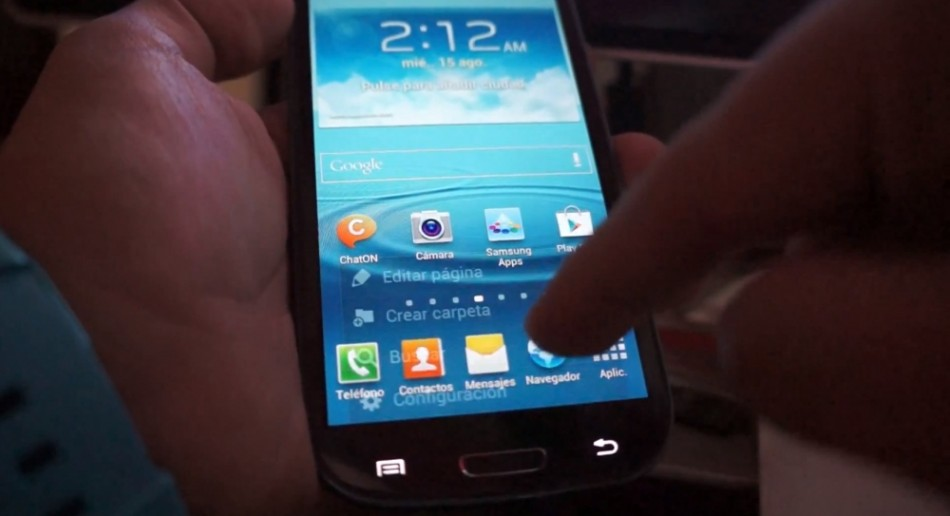 Samsung Galaxy S3 Seen Running Android Jelly Bean Update