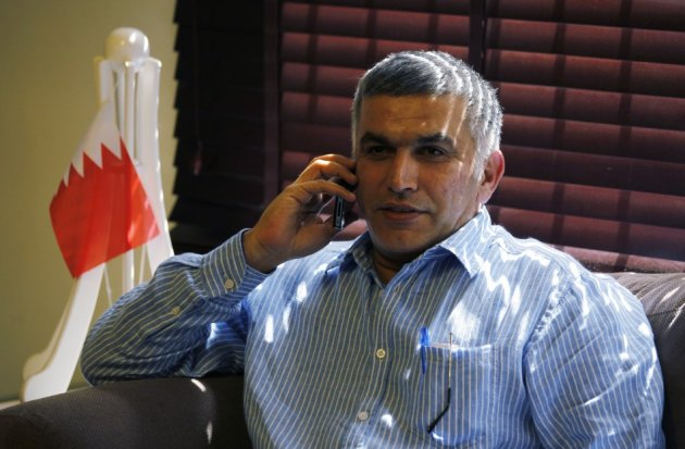 Bahrain human rights activist Nabeel Rajab