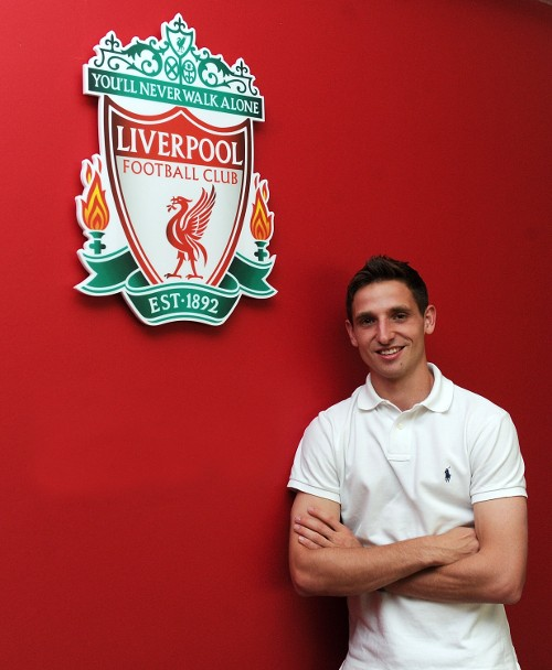 Liverpool New Boy Joe Allen