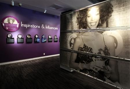Whitney Houston Exhibition