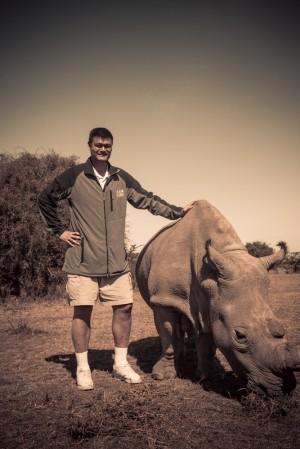 Taller then the rhino