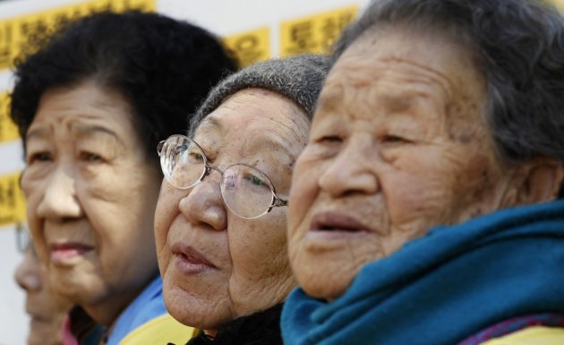 Korean comfort women have not given up their fight in Japan