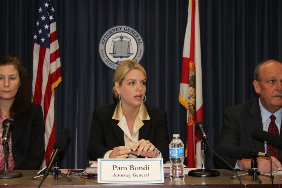 Florida State Attorney General Pam Bondi