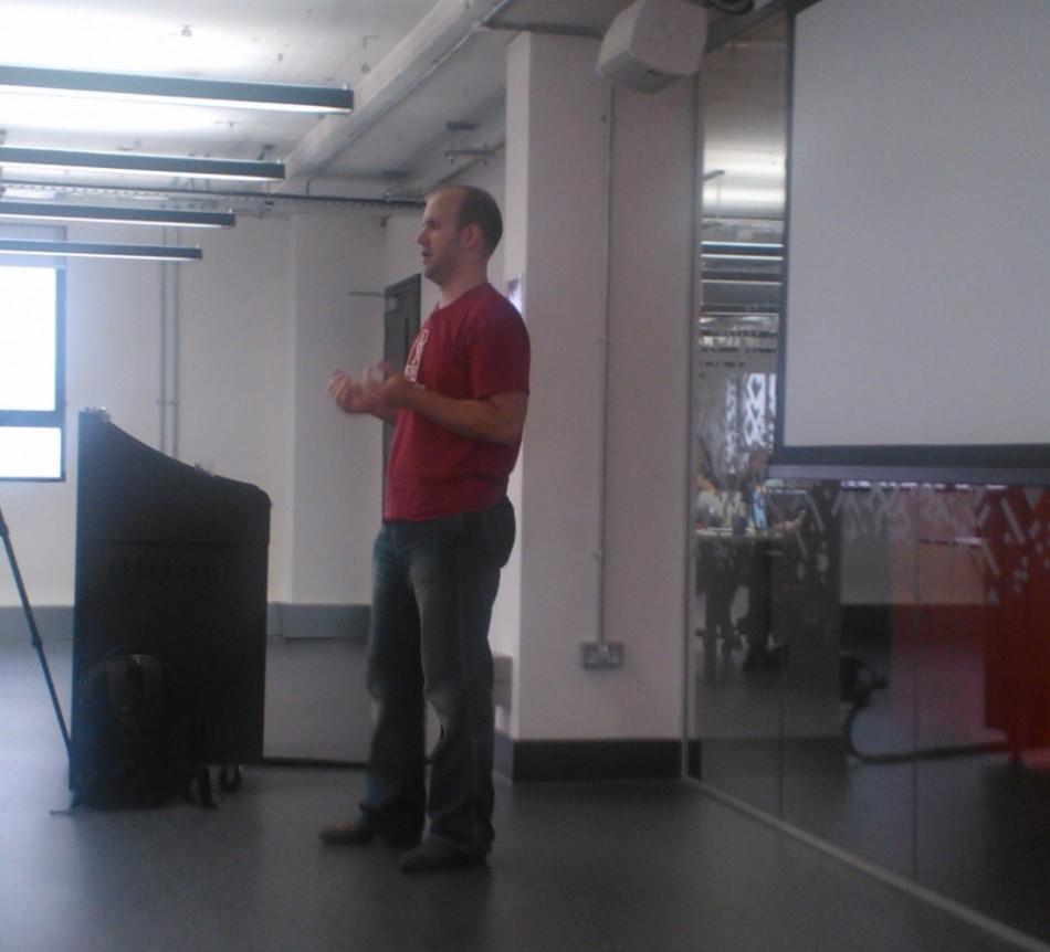 Eben Upton Raspberry Pi Inventor at Google Campus in London UK