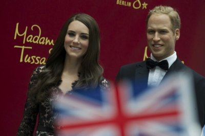 William and Kate Waxworks