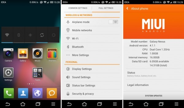 Update Galaxy Nexus i9250 to Jelly Bean with New MIUI ROM [How to Install]