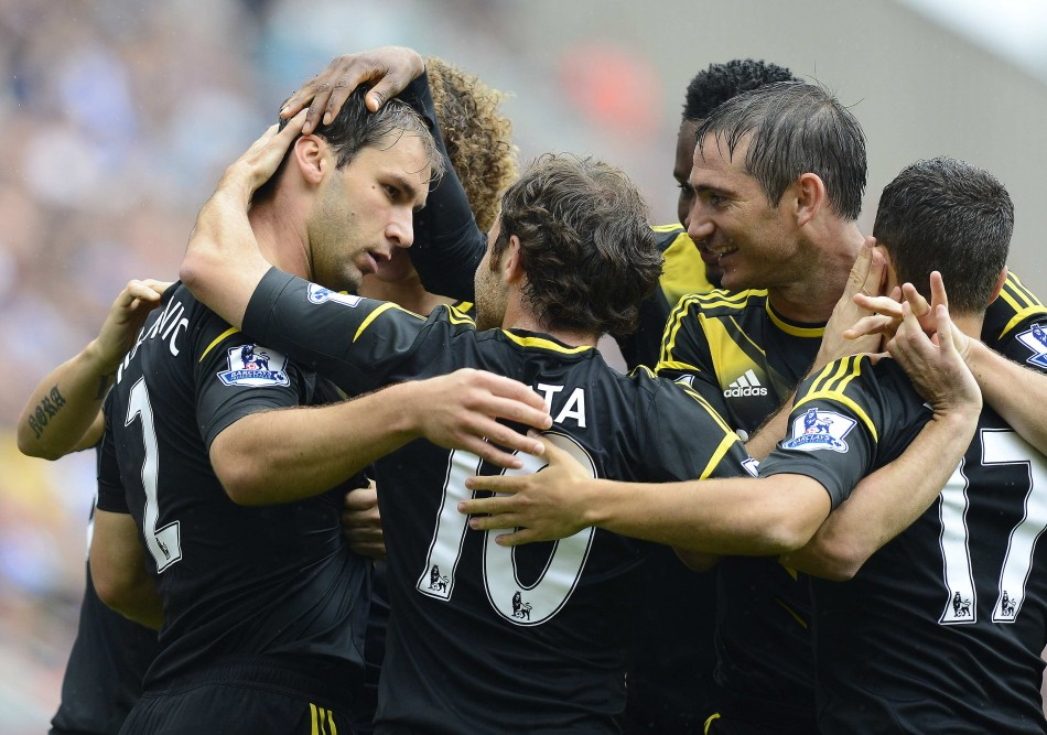 Chelsea Celebrate Opening Goal