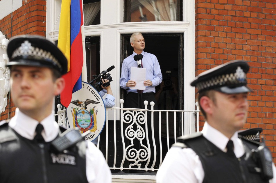 Wikileaks Founder Julian Assange Political Asylum