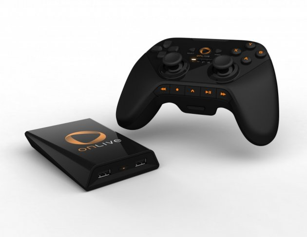 OnLive Game Streaming console and Controller